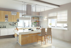 Green- Kitchen Cabinets Will Add Modern Look to Your Kitchent_image1